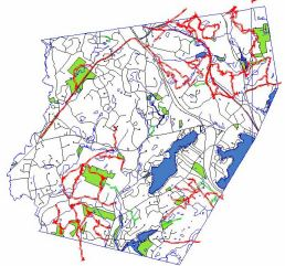 Windham Trails Network Map